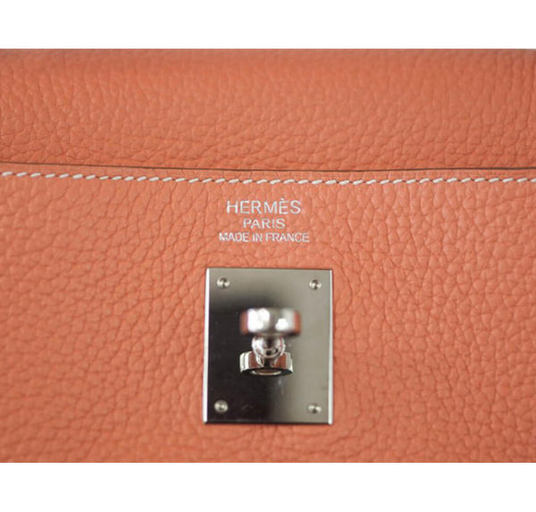 Hermes Kelly 35cm Bag Crevette Togo