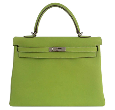Hermes Kelly 35 Candy Series Bag