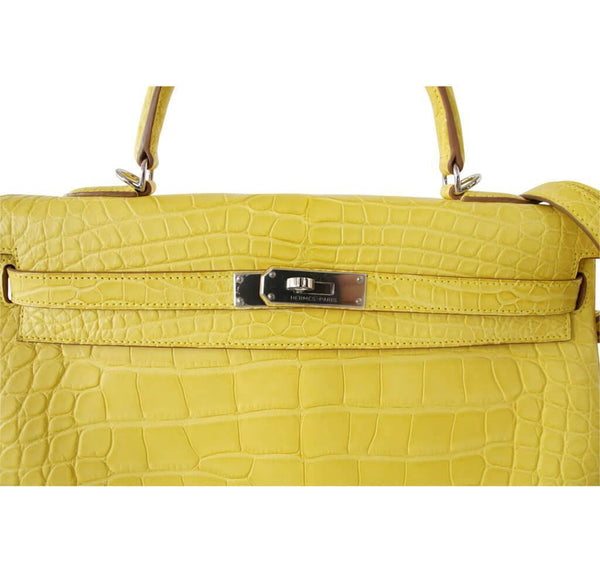hermes kelly 35 mimosa new detail
