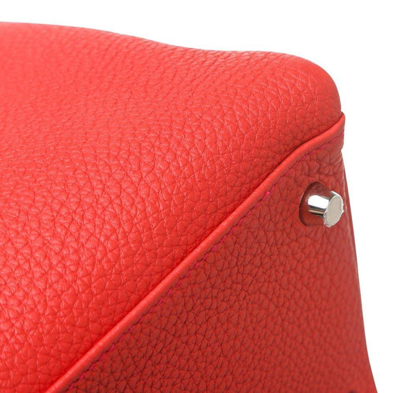 hermes kelly 35 red new corner