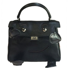 Hermes Kelly Idole Bag Black Gulliver