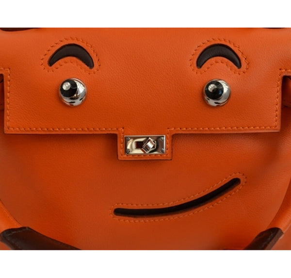 Hermes Kelly Idole Bag Orange Gulliver
