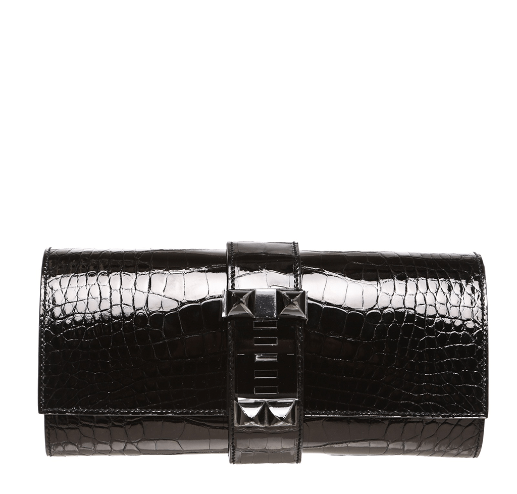 ab54f8dd9c62 Hermes Medor Clutch Black Alligator Bag Hermes Medor Clutch 23 ...