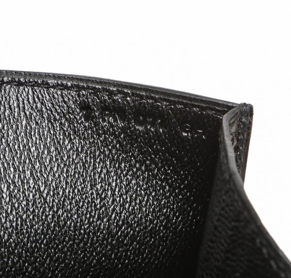 Hermes Medor Clutch 23 Alligator Black New Stamp
