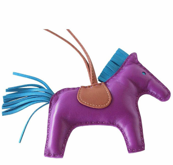 Hermes Rodeo Horse Bag Charm Anemone