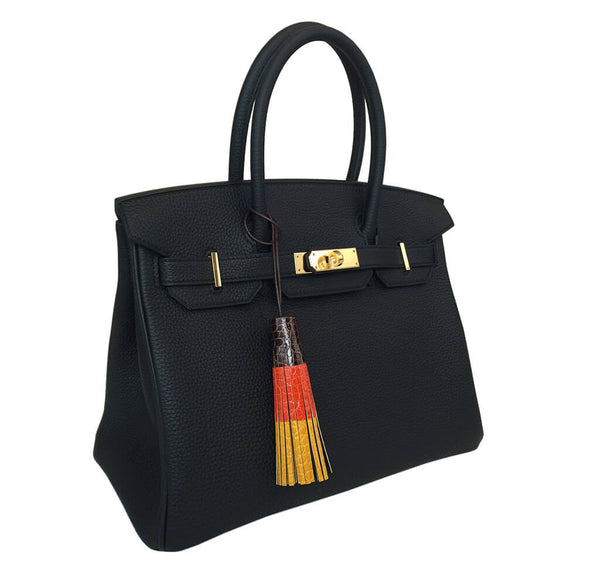 Hermes Limited Edition Tricolor Tassel Charm
