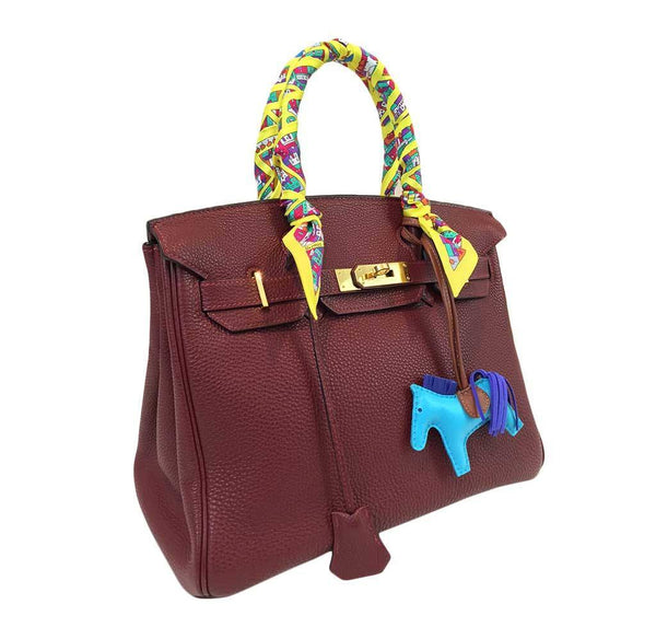 hermes birkin 30 rouge h used side