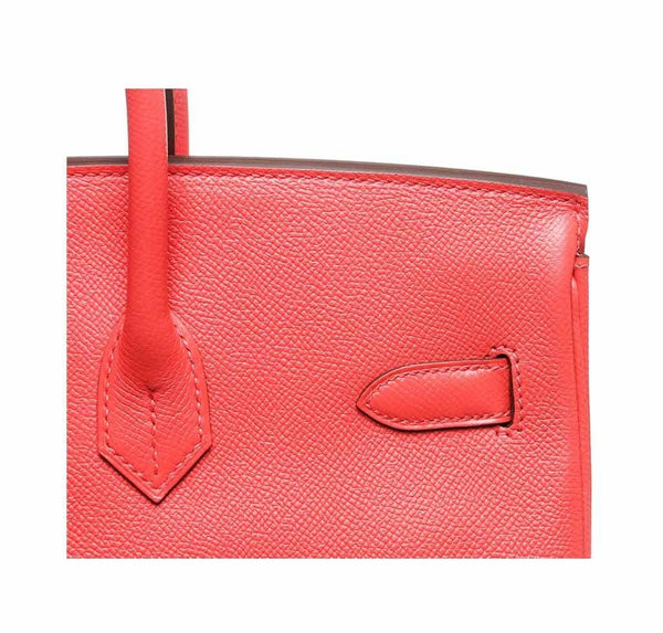 hermes birkin 35 rouge pivoine new detail