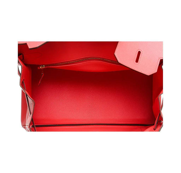 hermes birkin 35 rouge pivoine new inside