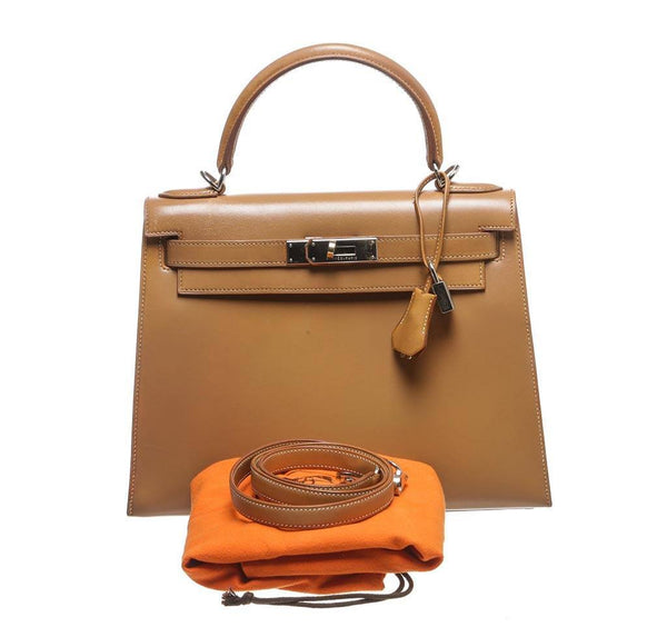 hermes kelly 32 gold used complete