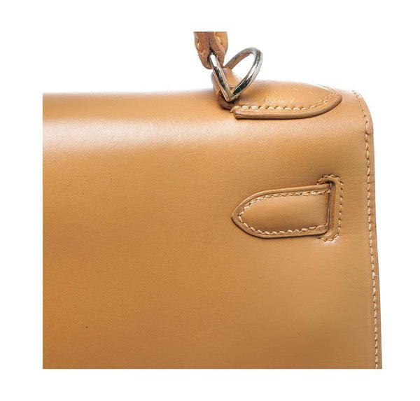 hermes kelly 32 gold used detail
