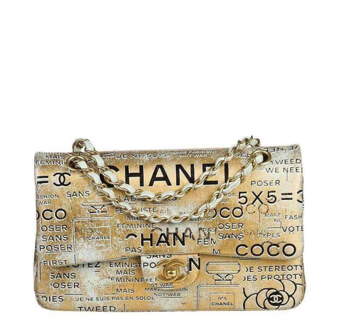 Chanel Medium Gold Limited Edition Bag