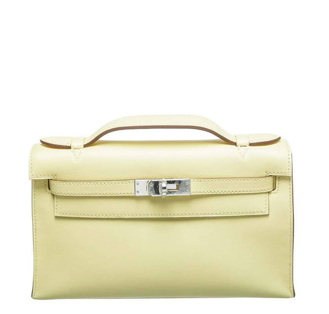 Hermes Kelly Pochette Mini Swift Leather
