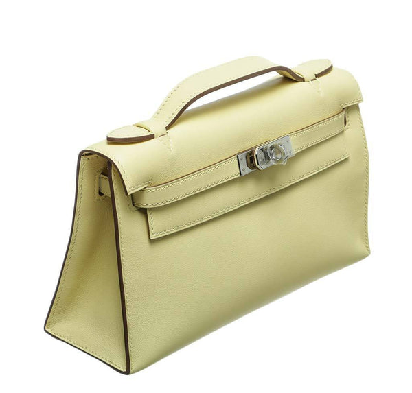 hermes kelly pochette mini soufre new side
