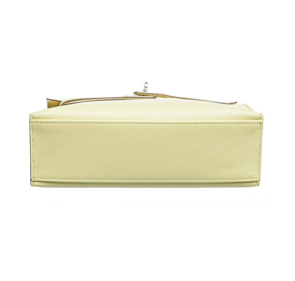 hermes kelly pochette mini soufre new bottom