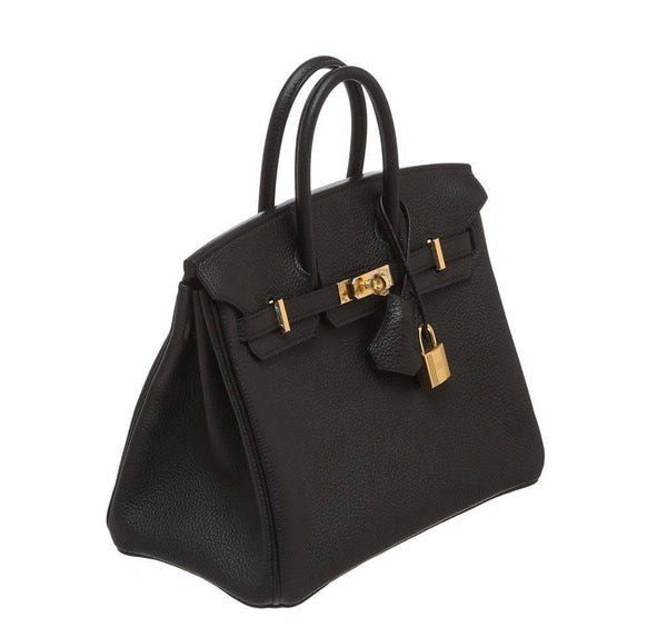 Hermes Birkin 25 Black New side