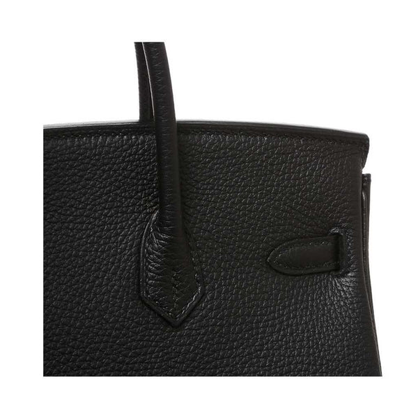 Hermes Birkin 25 Black New detail