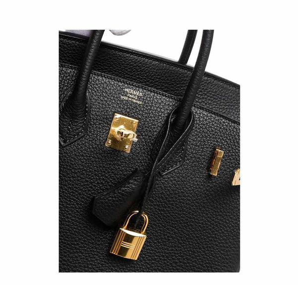 Hermes Birkin 25 Black New embossing