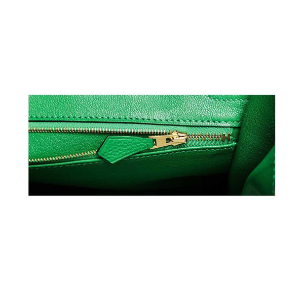 hermes birkin 30 bamboo new zipper