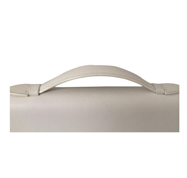Hermes Kelly Cut Longue Pochette Clutch White New strap
