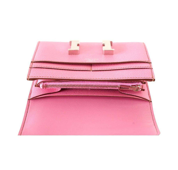 hermes constance 5P pink new inside
