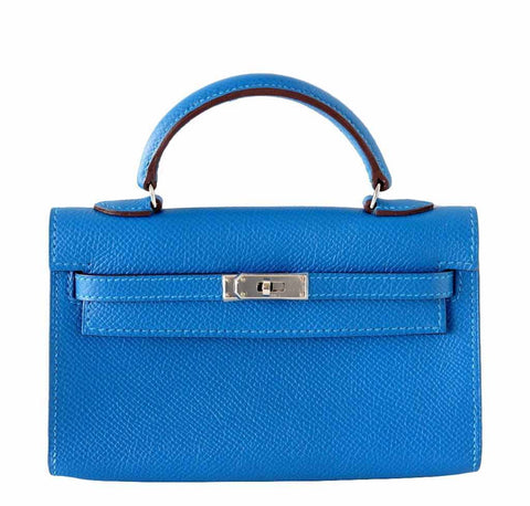 Hermes Tiny Kelly Mykonos Limited Edition