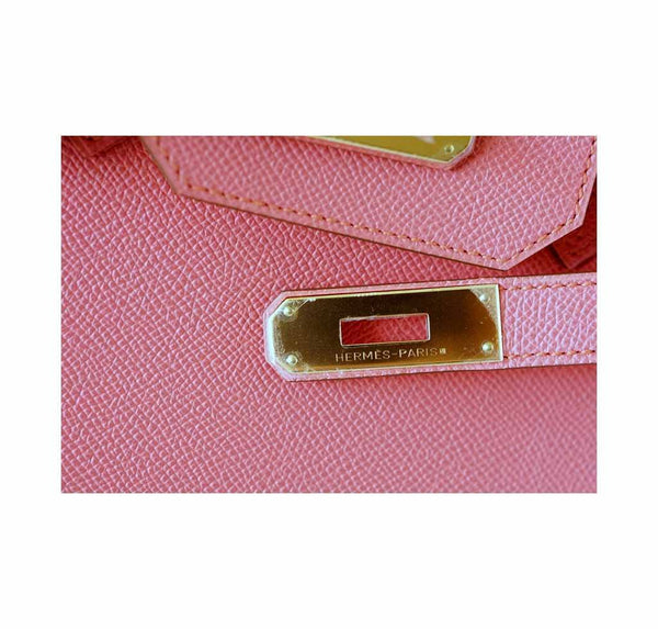 Hermes Birkin 35 Flamingo new engraving