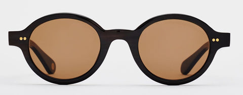 LF06 - Brown Horn / Dark Brown Lens