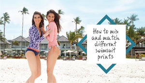 How to mix and match different swimsuit prints