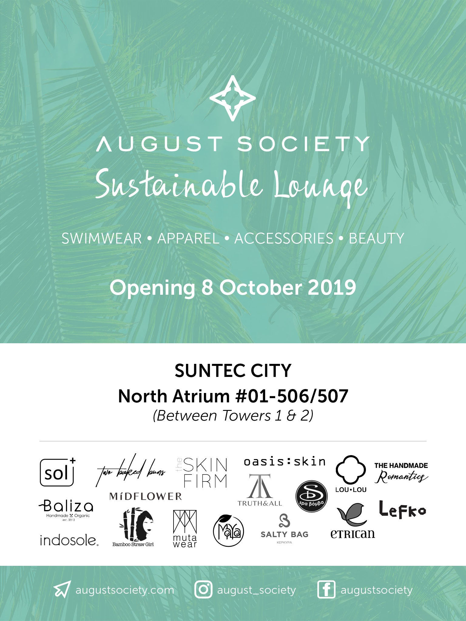 August Society Sustainable lounge