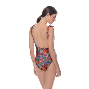 Menorca Shoulder Tie One Piece