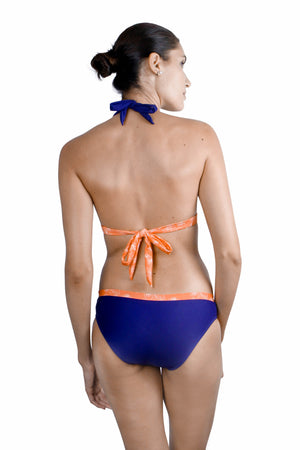 Repulse Bay Halter - Midnight / Hibiscus