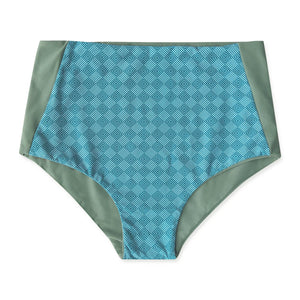 Long Beach High Waist Bottom - Reversible