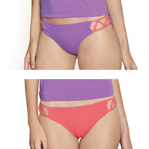 Acapulco Hipster - Lilac / Coral - August Society  - 1