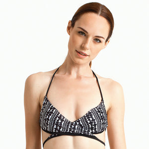 Bondi Wrap Top - Heartbreaker - August Society  - 1