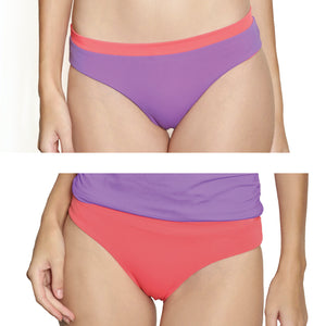 Boracay Hipster - Reversible Lilac / Coral
