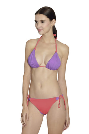 Laguna String Top - Lilac / Coral - August Society  - 2