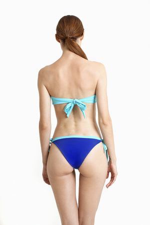 Ipanema Brazilian Bottom - Reversible Aquamarine / Cobalt - August Society  - 6