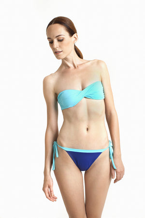 Ipanema Brazilian Bottom - Reversible Aquamarine / Cobalt - August Society  - 5