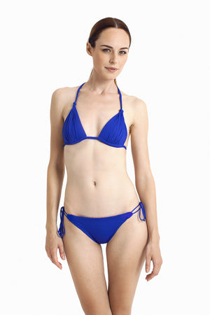 Bora Bora String Bottom -  Reversible Cobalt / Tribal - August Society  - 5