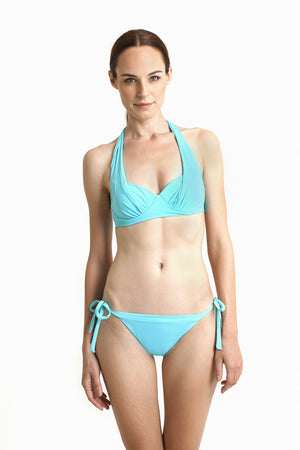 Ipanema Brazilian Bottom - Reversible Aquamarine / Cobalt - August Society  - 3