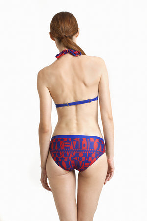 Boracay Hipster - Reversible Cobalt / Tribal - August Society  - 4
