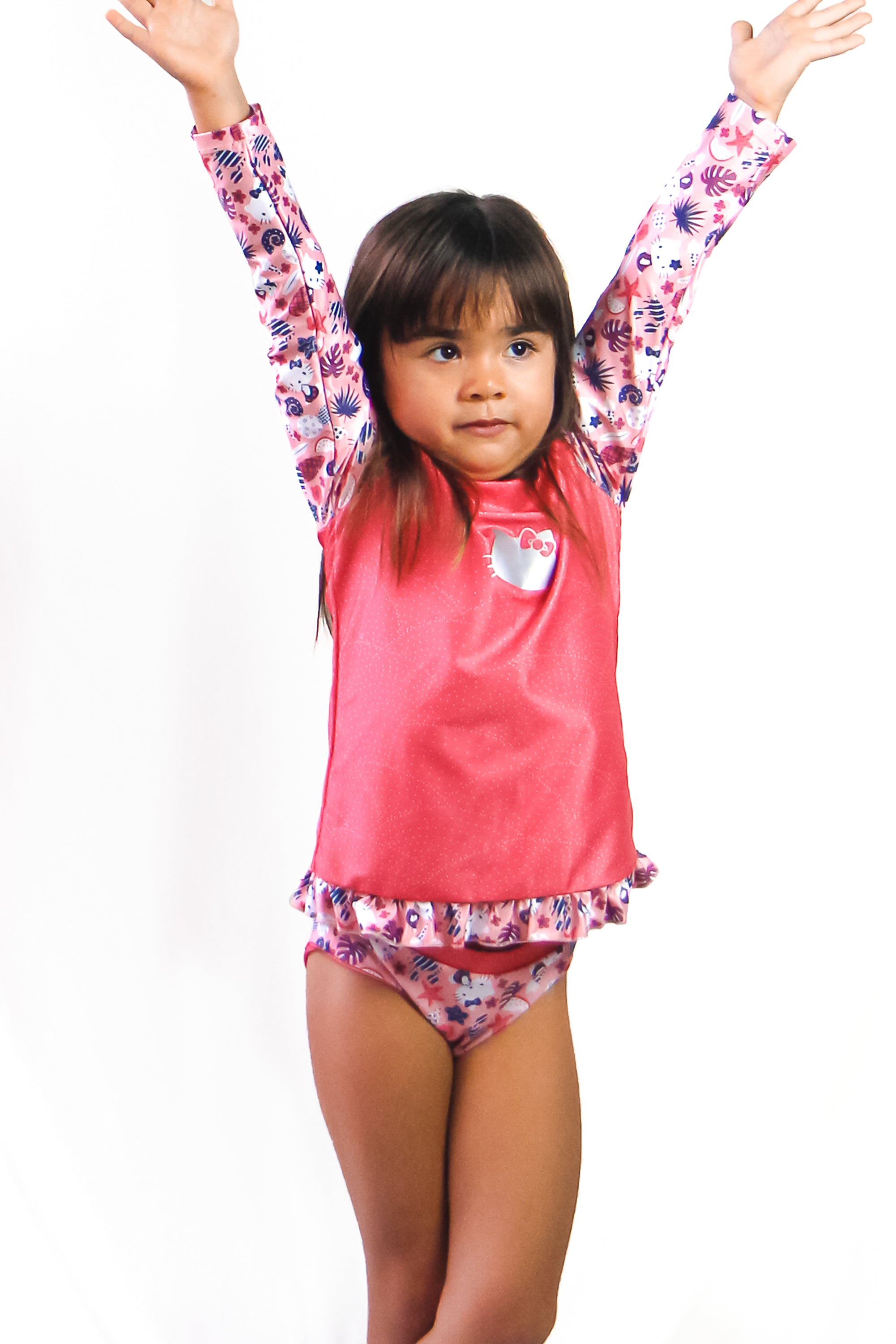 Hello Kitty Girls' Rash Guard