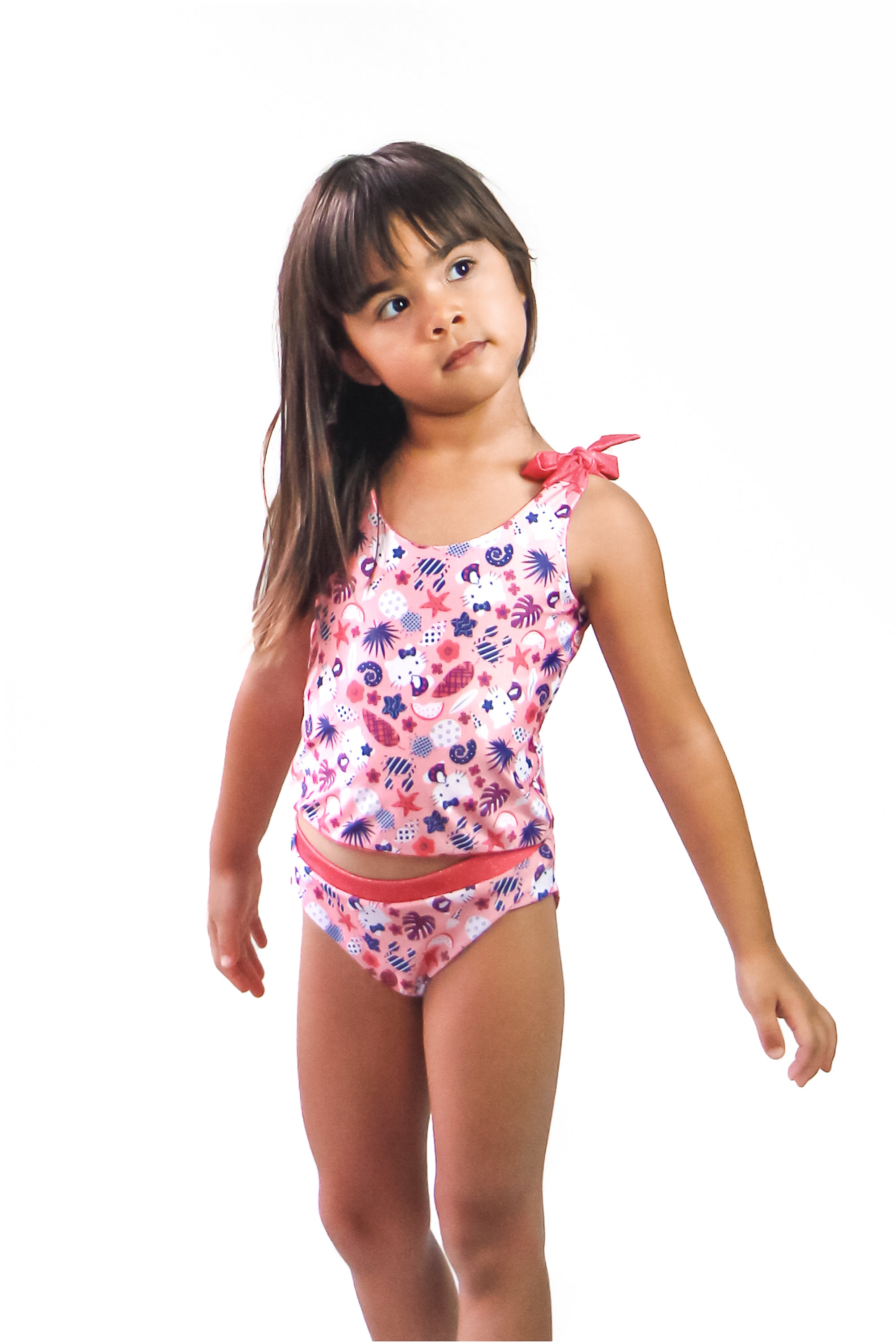 Hello Kitty Girl's Bikini Bottom - Reversible