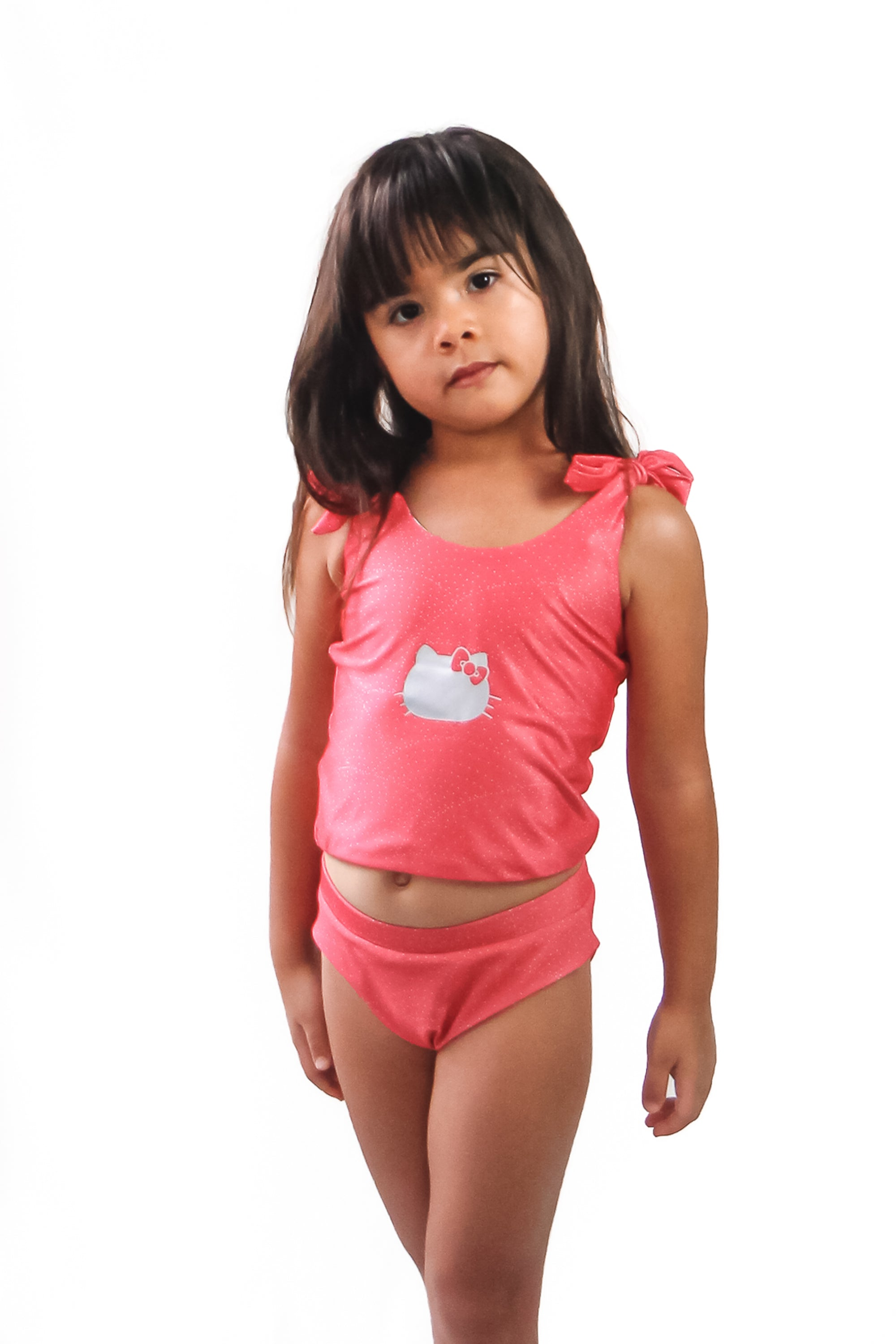 Hello Kitty Girls' Swim Tank - Reversible