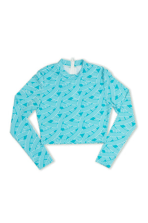 Maui Rash Guard - Seafoam