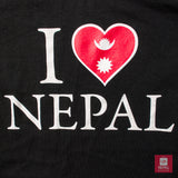 I Love Nepal T-shirt by Nepal Bazaar