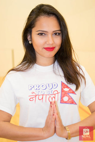 Proud To Be Nepali T-shirt