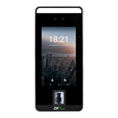 ZKTeco SpeedFace V5: 5-inch Touch Display
