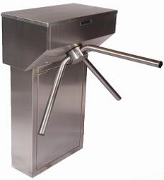 TRIDENT Single Waist Height Turnstile